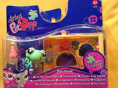 Littlest Pet Shop Pet 474 - Frog In Party Shop By Hasbro 💗