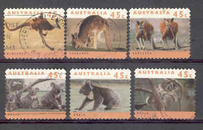 Australia 1994 Wildlife Sg1459/64 S/a Used Set