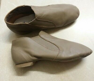 Capezio Girls Leather Jazz Shoes