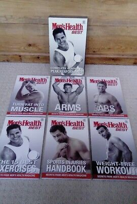 Mens Health Best Workout and Exercise books - Complete Guide to Peak Performance