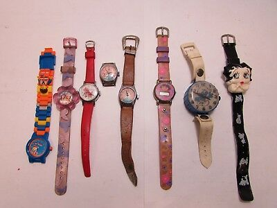 VINTAGE to NOW--Character--Kids--Watch lot--Estate Hoard--NO RESERVE