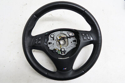 Bmw E90 E91 Steering Wheel Leather Multi Function M Sport  Ref2230