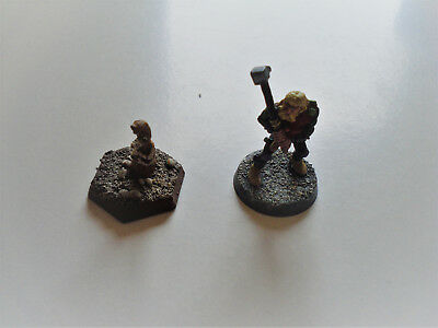 Rare Citadel Stontium Dog Miniatures OOP  painted Wulf and Gronk