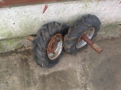 Merry tiller 300/6 wheels and tyres  Rotavator Rotovator