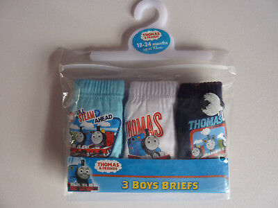 *ONLY £1* Pack Of 3 *THOMAS* Briefs ~ 18-24 Months ~ BNWT