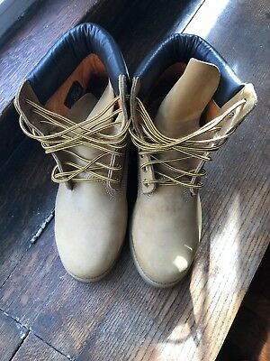 Timberland Men's 6 inch Wheat Work Boot SIZE 9M