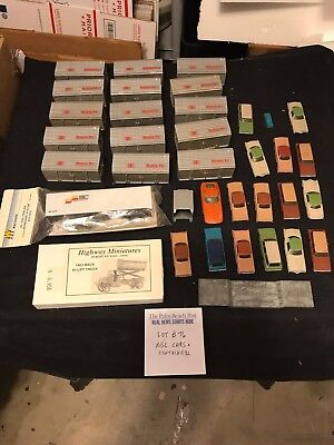 Ho Scale Trains  Misc. Cars And Containers.  Lot # 76