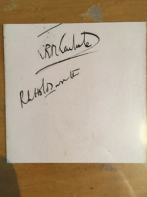 1926 Sussex signed x 2 album Page RL Holdsworth & KRM Carlisle