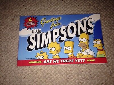 The Simpsons Postcard Book (no reserve)