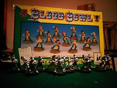 1994 Wood Elf Team Bloodbowl 3rd Edition Athelorn Avengers
