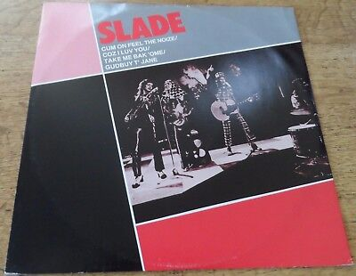 "Slade 12"" - Cum On Feel The Noize"