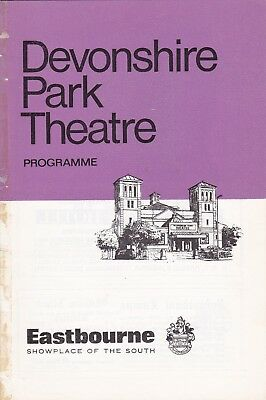 John Inman & Anne Stallybrass in My Fat Friend Devonshire Park ThEastbourne 1976