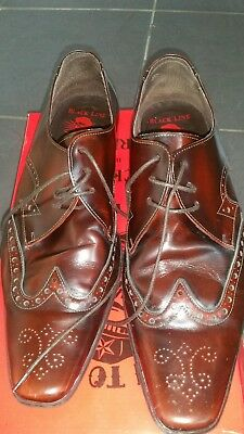 jeffery west brown brogue size 10