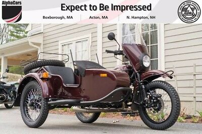 2017 Ural Patrol 2WD Burgundy Metallic Custom  Updated Model Loaded 2WD Reverse Gear Financing & Trades