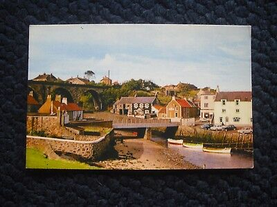 Postcard Harbour & Pier, Lower Largo, Fife 1967