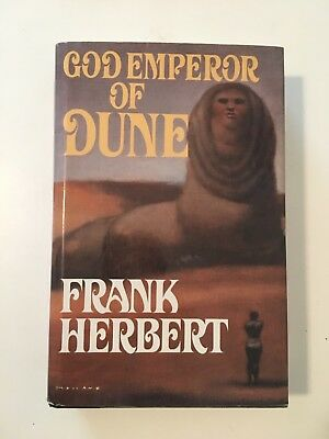 God Emperor of Dune by Frank Herbert - Hardcover - 1981 - 6th Impression
