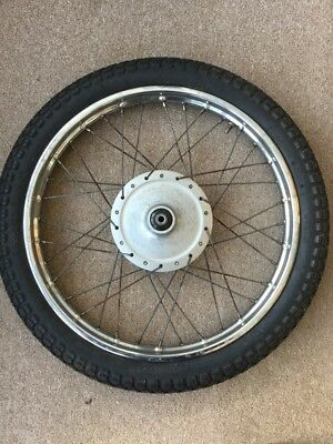 Honda C90 front wheel And Tyre 1.40 X 17