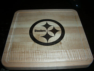 Longaberger Woodcrafts Cutting Board - Steelers NFL