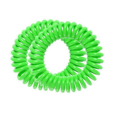 Gift 2 Pack Mosquito Repellent Outdoor Green Waterproof Bracelets Bangle