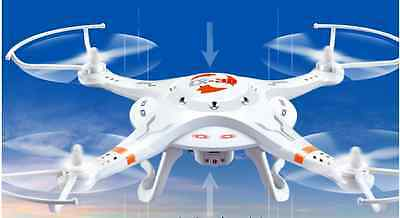 White Width 340MM 2.4G Remote Control Four Axis Aircraft Model Toys #