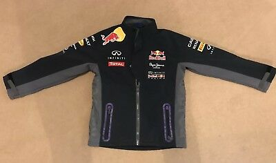 Red Bull Racing Child's Kids Jacket Softshell F1