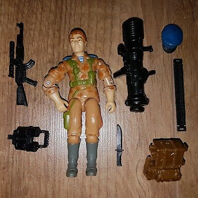 gi joe action force figure red star near complete 1991