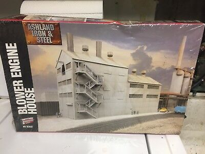 Walthers HO Scale Blower Engine House Building Kit #933-2957 RARE  NEW & Sealed