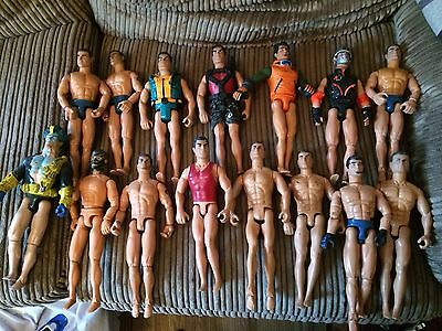 Action Man Figures  Job Lot Of 15