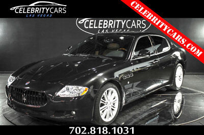 2010 Maserati Quattroporte Executive Edition 2010 Maserati Quattroporte S  EXECUTIVE package 18k miles Las Vegas