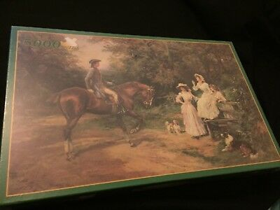 A Meeting By The Stile - 5000 Piece Puzzle - Extremely Rare -Brand New
