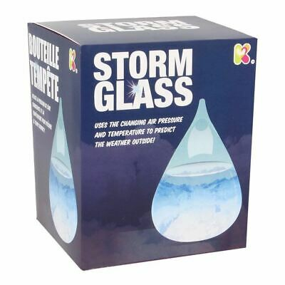 Keycraft Storm Glass - Weather Prediction Science Executive Desk Toy NEW