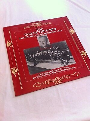 Jack Hylton And His Orchestra The Talk Of The Town 1933 Lp