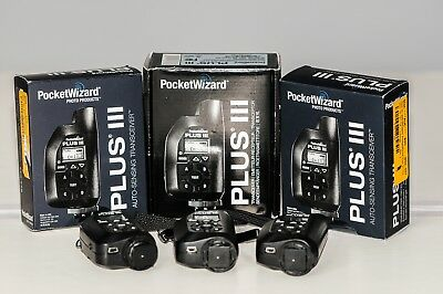 POCKETWIZARD Plus III transceiver Pocket Wizard wireless transmitter