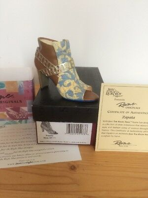 "Just The Right Shoe Raine ""Zapata"" Boxed & Coa"