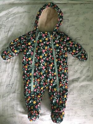 Baby Boden Snowsuit 3-6 Months Immaculate Condition