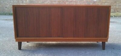 Mid Century Small Sideboard Sliding Doors Retro Russell