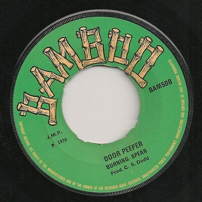 ♫ LISTEN -   DOOR PEEPER Burning Spear/ SOUL FOOD Sound Dimension on BAMBOO 50