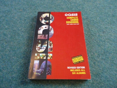 Oasis - Complete chord songbook  -  revised edition
