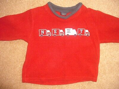 Boys Next fleece top 9-12 months