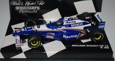 Minichamps 1:43 F1 - Williams Renault Fw18 - Damon Hill #5 - 9600005