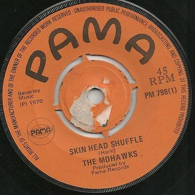 ♫ LISTEN - 1970 - SKIN HEAD SHUFFLE - Mohaks / Red Cow - RICO on PAMA PM 798