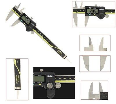 "Mitutoyo 500-196-20/30 0-6""/0-150mm Absolute Digital Vernier Caliper 0.01mm UK"