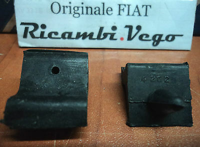 COPPIA TASELLO LATERALE VANO MOTORE FIAT 850 SPIDER engine compartment door pads