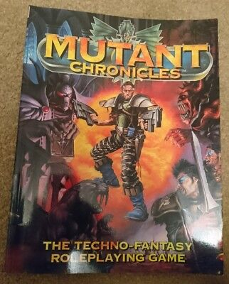 Mutant Chronicles #4001 Techno Fantasy roleplaying game