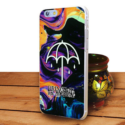 Bring Me The Horizon hard  transparent  clear  Case for iPhone 5 6 7 8 X