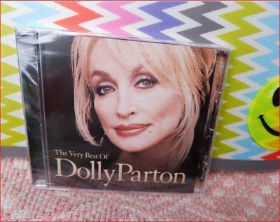 """DOLLY PARTON New Sealed FREEPOST """"Very Best of"""" CD +9to5/I Will Always Love You"""