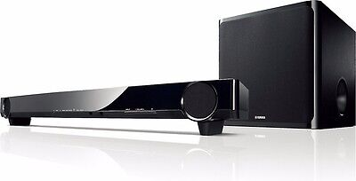 YAMAHA YAS-201 Soundbar with Wireless Active Subwoofer and Soundbar bracket