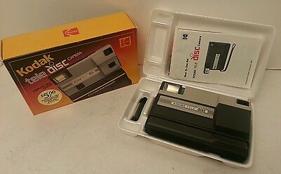Kodak Tele Disc Camera With Original Box and inserts NICE & RARE
