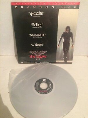 The Crow Film Laser Disc Brandon Lee NM Perfect Condition USA Press