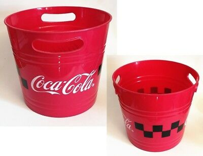 One Coca Cola Bottle Can Ice Bucket Cooler Advertising Promotioanl Souvenir